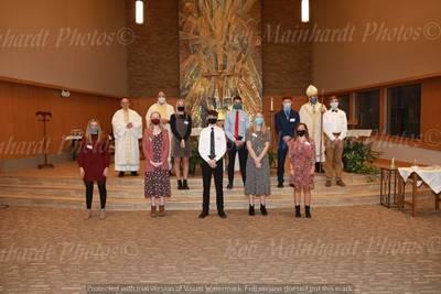 Highlight for album: Nativity Confirmation October  31, 2020